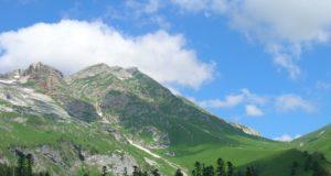 какие горы в Адыгее