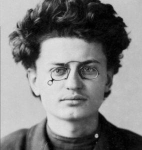 как в молодости выглядел Троцкий