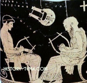 алфавит и литература древних греков