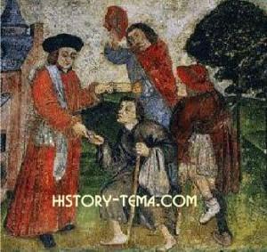 нищие бродяги в средневековых странах Запада