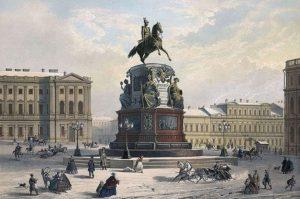 где стоит памятник Николаю первому