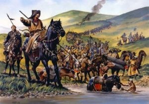 как монголы завоевывал