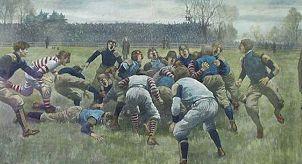 какими были футбольные матчи сто лет назад