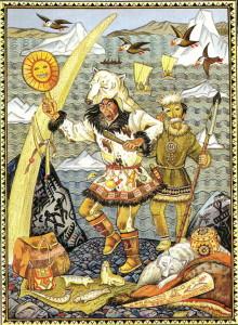 с какими народами встречались первые русские жители дальнего востока