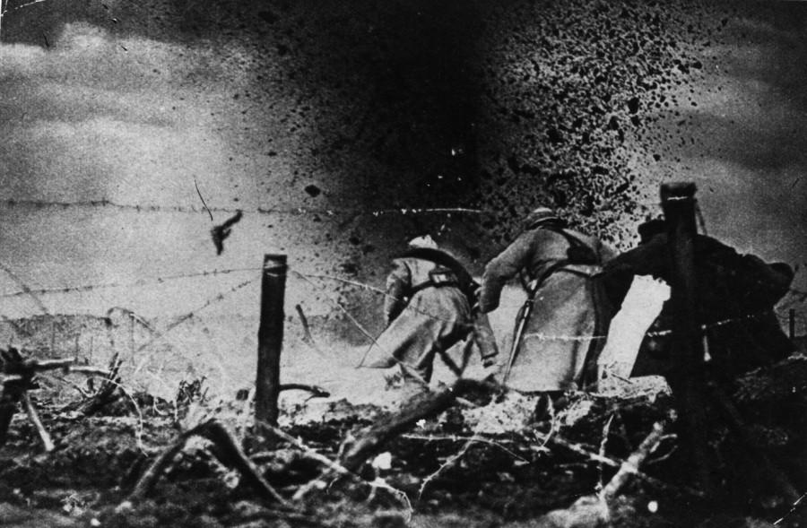 каков был характер боевых действий в первую мировую войну