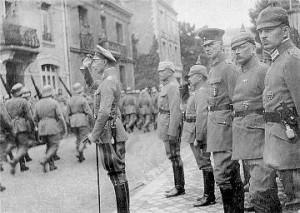 какие силы воевали на западном фронте первой мировой войны