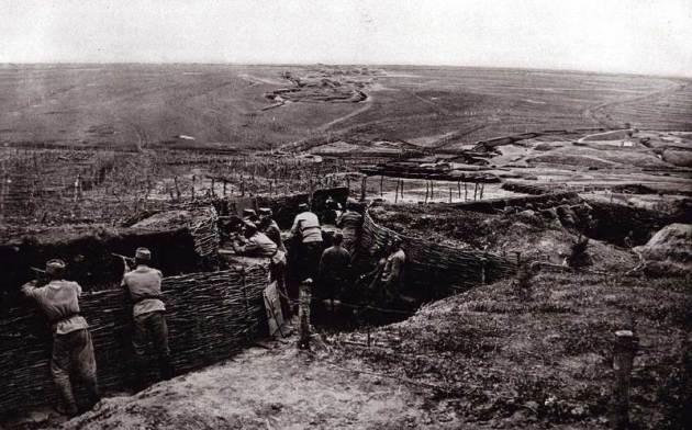 как велись боевые действия в первую мировую войну