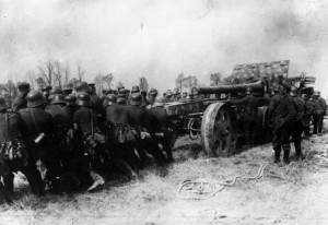 какое было вооружение в первую мировую войну