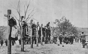 каков был оккупационный режим в первую мировую войну