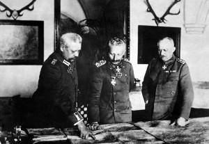 какими были последние наступательные действия германии в первую мировую войну
