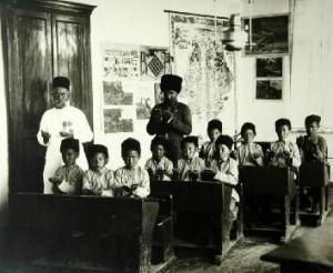 каким было образование на кавказе в старину