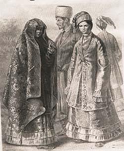 как одевались татары