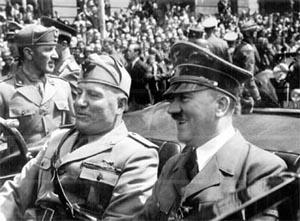Какие отношения были у итальянских фашистов с германскими