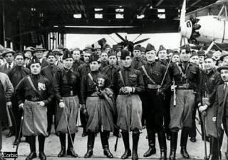 Как выглядели итальянские фашисты