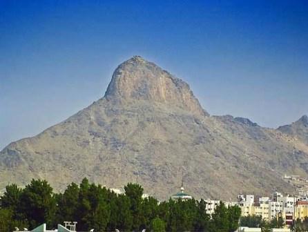 Как выглядит гора Хира
