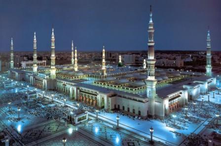 Как выглядит мечеть пророка Мухаммеда