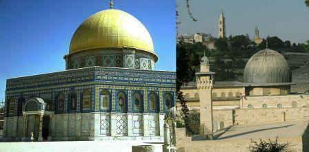 Как выглядят Куббат-ас-Сахра и аль-Акса