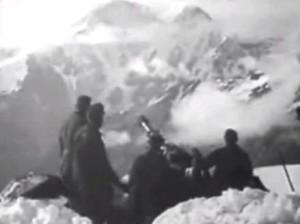 как проходила война в горах