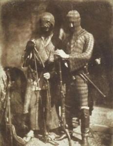 Как раньше одевались кавказские воины