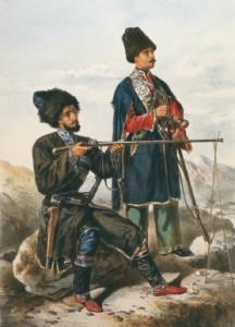 какими раньше были чеченцы