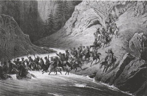 Какими кавказцы были воинами