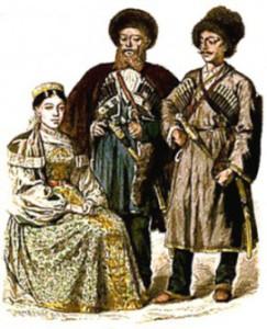 Как одевались кавказские казаки