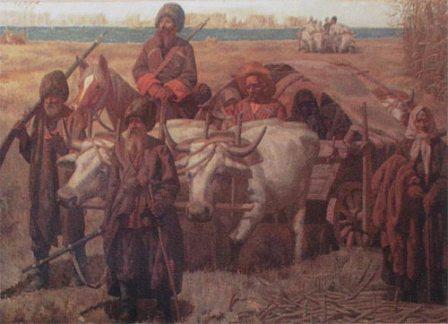 кто были первые русские на кавказе