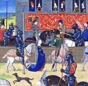 как проходили рыцарские турниры