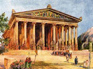 Как выглядели древнегреческие храмы