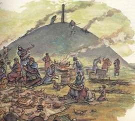 Как славяне хоронили покойников
