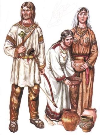 как выглядели древние славяне