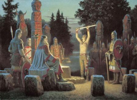 Как древние славяне поклонялись своим богам и духам