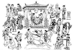 Какие боги и духи были у древних греков