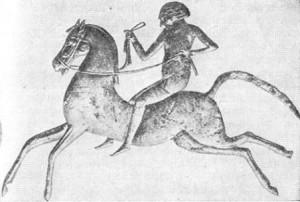 когда у людей появились лошади