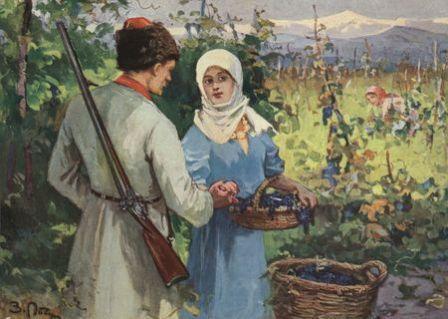 что делали казаки в русско-кавказскую войну