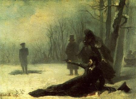 как погиб пушкин