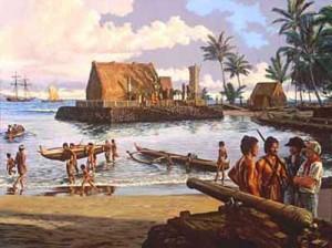 как гавайцы познакомились с европейцами