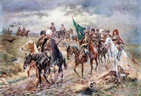 как воевали кавказские горцы
