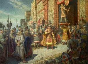 как олег воевал с византией
