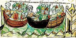 как игорь воевал с византией