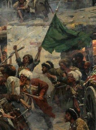 Как сражались воины Шамиля