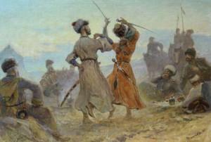 что делали казаки в кавказской войне