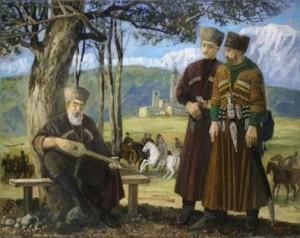 как кавказская война повлияла на фольклор