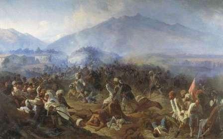 как россия воевала с кавказом
