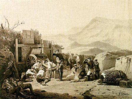 как жили русские на кавказе когда была война с горцами