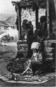 как раньше выглядели горцы кавказа