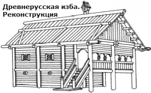 в каких жилищах жили на руси