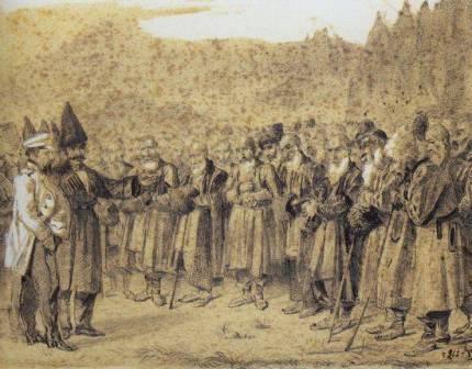 как кавказские горцы стали сближаться с россией