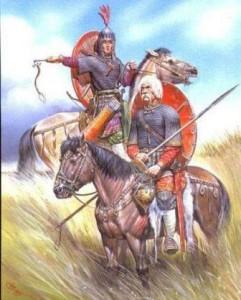 как выглядели русские воины