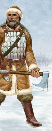 как выглядели древнерусские воины